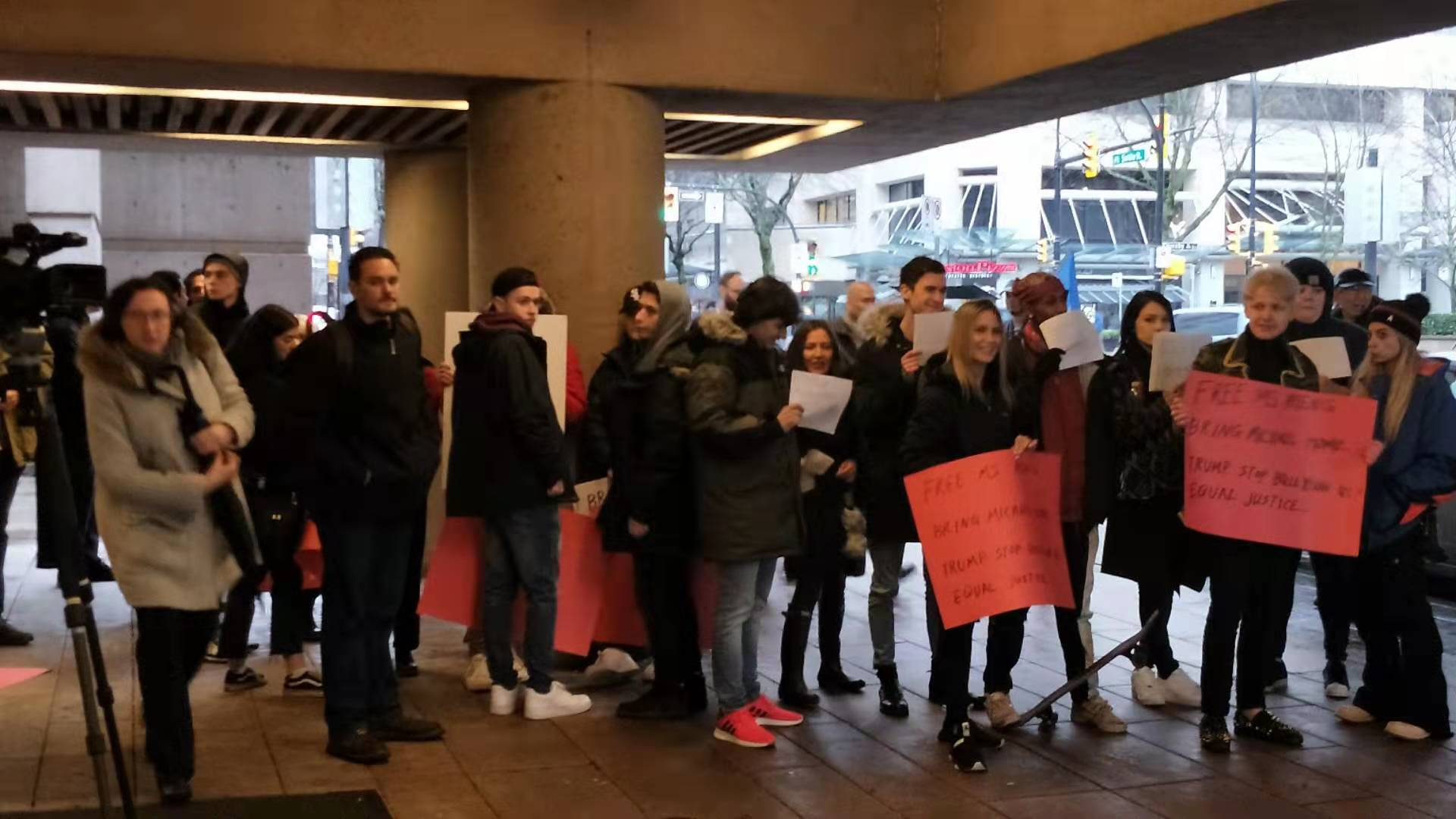 加拿大民众呼吁珍视加中友谊,释放孟晚舟女士