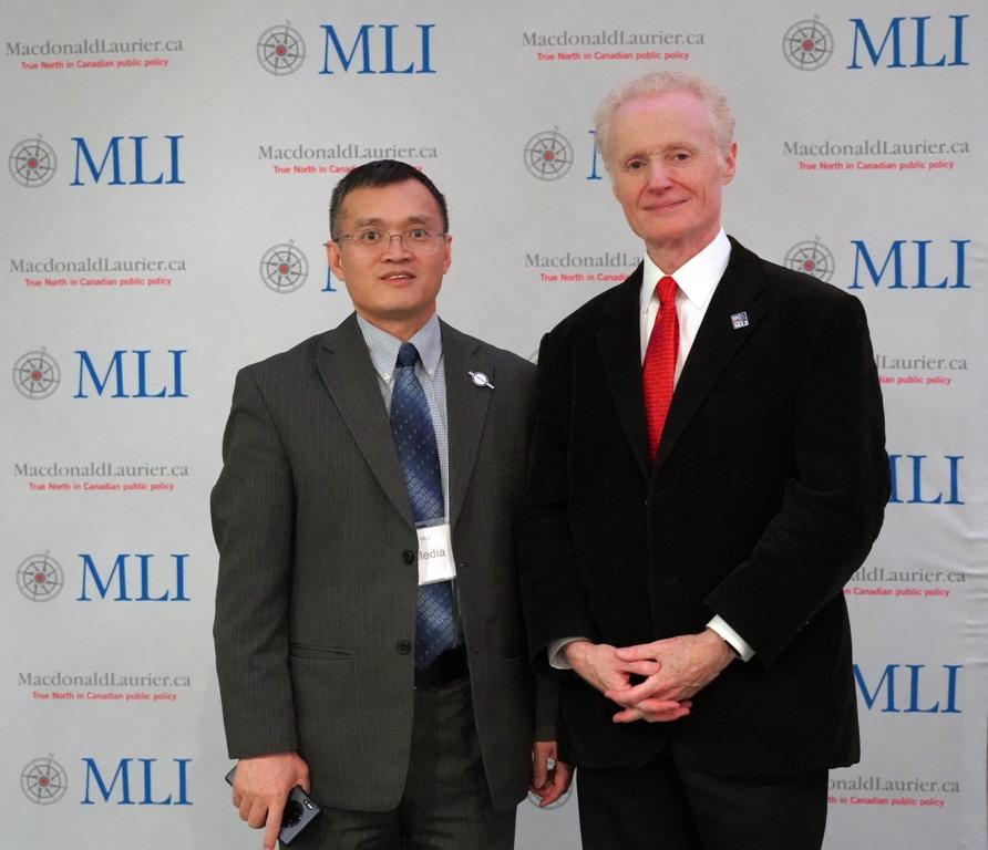 北美华文传媒协会组团参加知名智库MLI年度晚宴