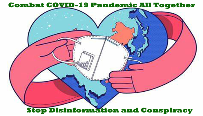 PETITION: Combat COVID-19 pandemic all together through WHO, Stop disinformation and conspiracy